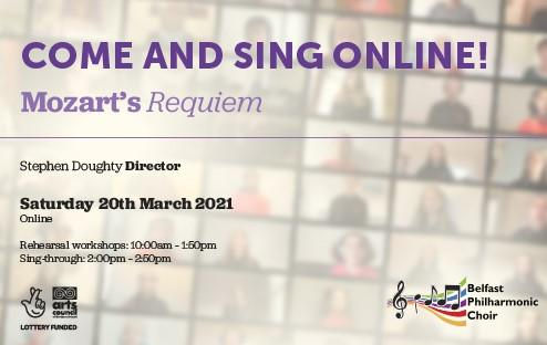 Come and Sing Online! - Mozart's Requiem